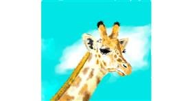 Drawing of Giraffe by JjjjjjJison