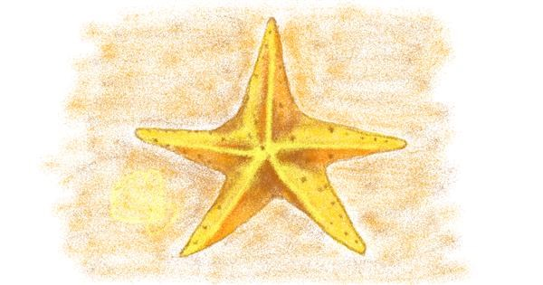 Starfish drawing by tiny=)