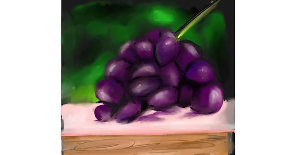 Grapes drawing by Ankita Sharma