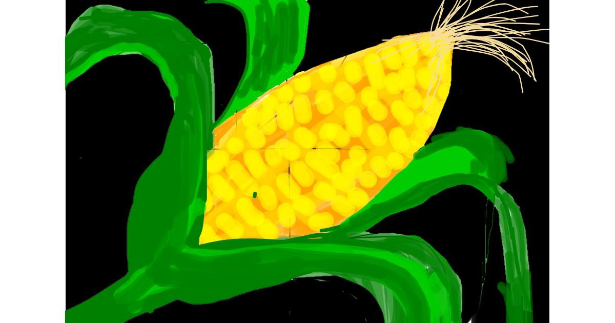 Drawing of Corn by ✌hatts🐙