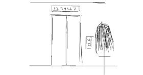 Elevator drawing by shakirah