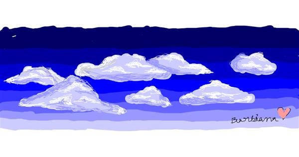 Cloud drawing by barbiana