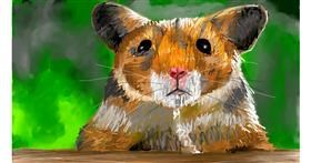 Drawing of Hamster by Soaring Sunshine