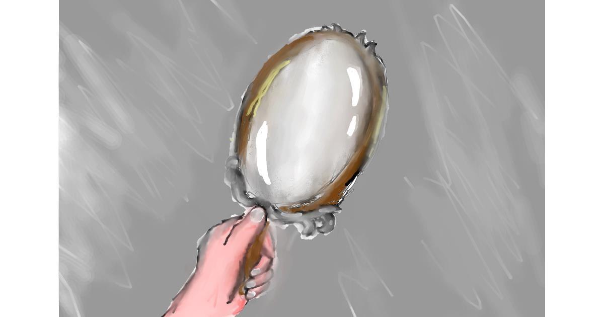 Mirror drawing by (luna lovegood)