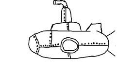 Submarine drawing by Anonymous