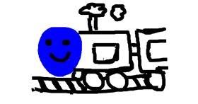 Train drawing by Ridda