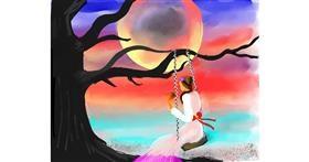 Drawing of Swing by Yashi 🐢