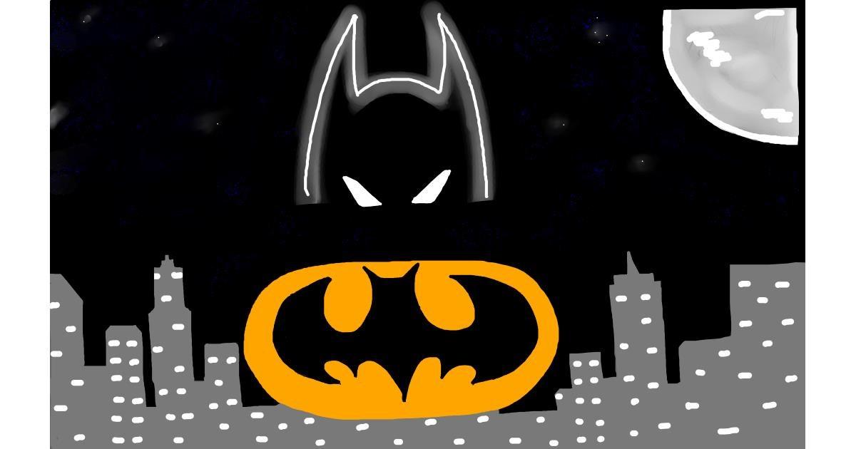 Batman drawing by Peekabo