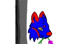 Drawing of Tulips by Data