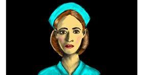 Drawing of Nurse by SAM AKA MARGARET 🙄