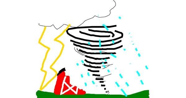 Storm drawing by KekeDoYouLoveMe