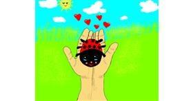 Ladybug drawing by Zerous 👩🎤