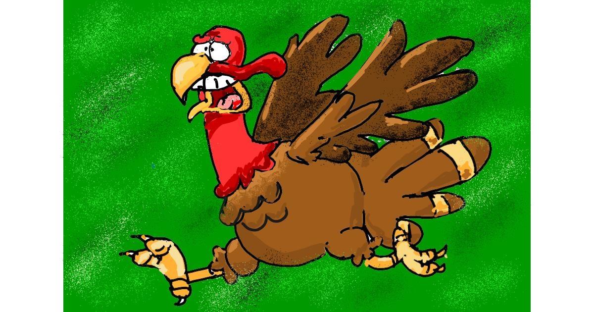 Turkey drawing by ThasMe13