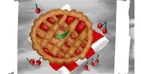 Drawing of Pie by Vania
