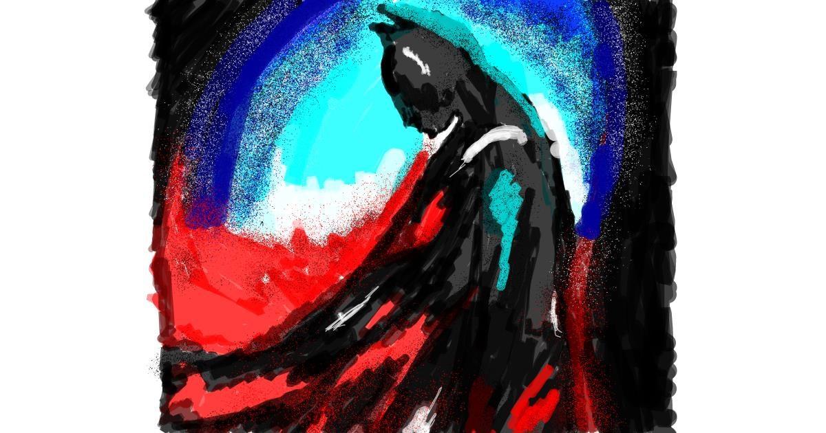Batman drawing by Mercy