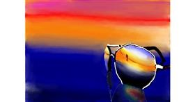 Sunglasses drawing by Autumn