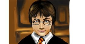 Drawing of Harry Potter by RadiouChka