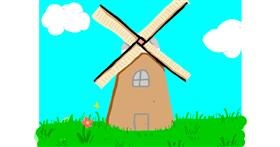 Windmill drawing by 🌸