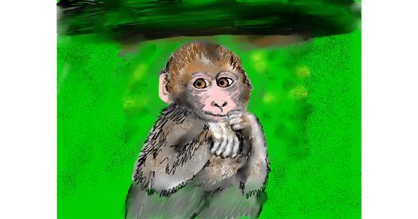 Monkey drawing by SAM 🙄AKA Margaret