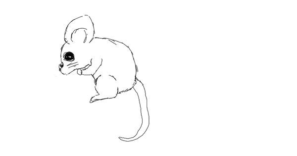 Mouse drawing by bob