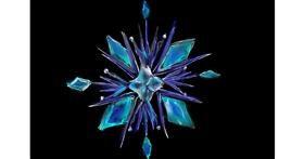 Snowflake drawing by (luna lovegood)