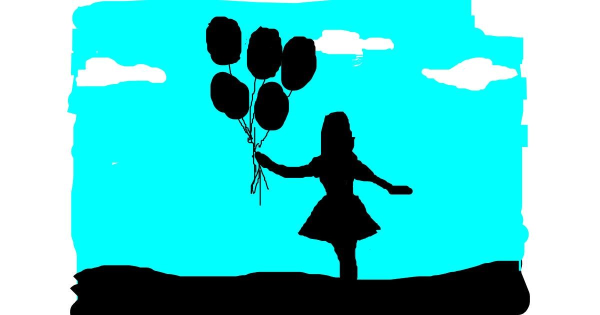 Drawing of Balloon by Anonymous