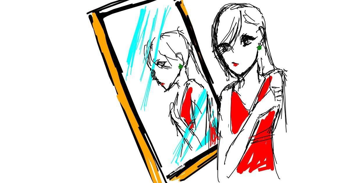 Mirror drawing by n