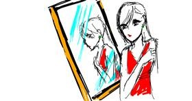 Mirror drawing by n