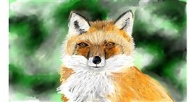 Drawing of Fox by Soaring Sunshine