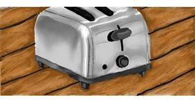 Drawing of Toaster by Humo de copal