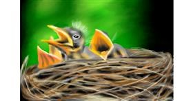 Nest drawing by RadiouChka
