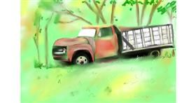Drawing of Truck by Wizard