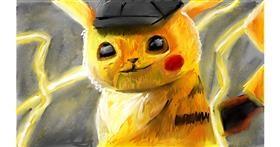 Pikachu drawing by Soaring Sunshine